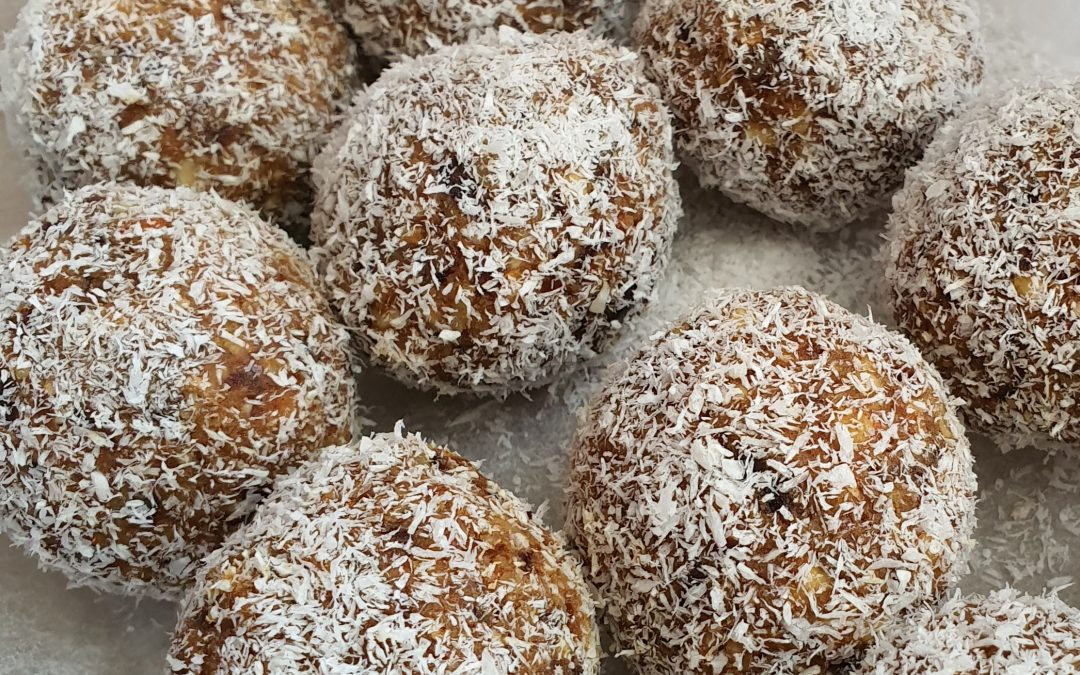 Salted Caramel Bliss Balls Recipe